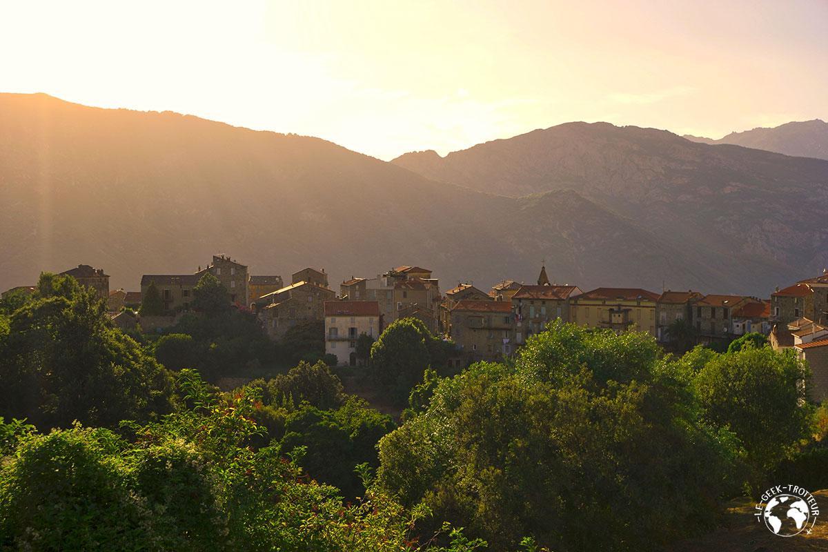 Le village de Sainte-Lucie-de-Tallano