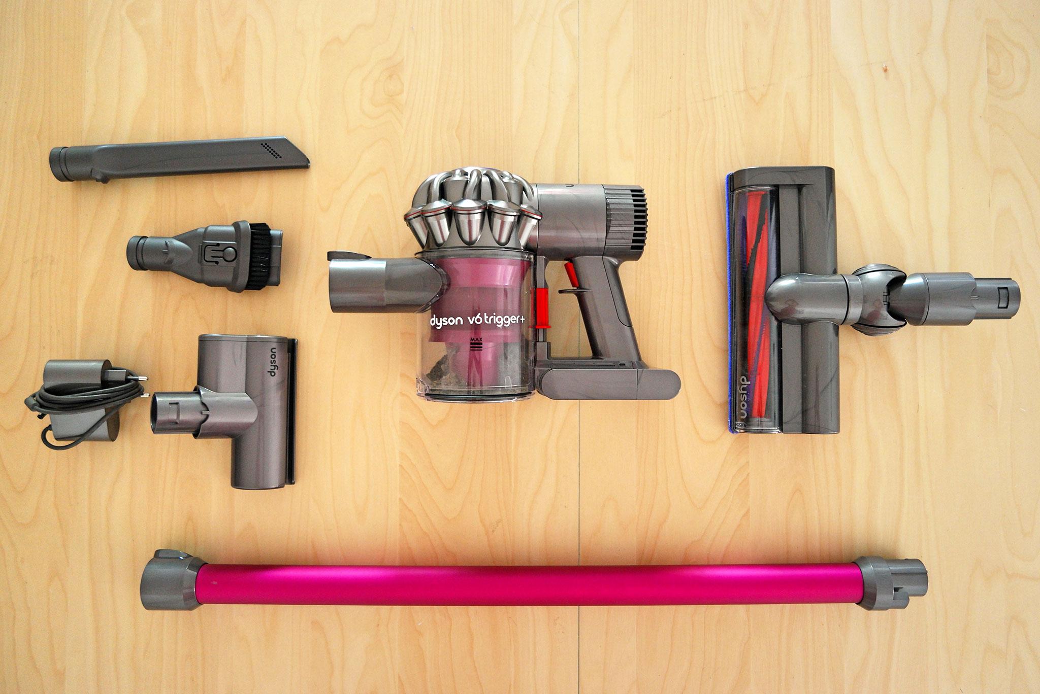 transformer un dyson v6 trigger en dyson v6 le geek trotteur. Black Bedroom Furniture Sets. Home Design Ideas