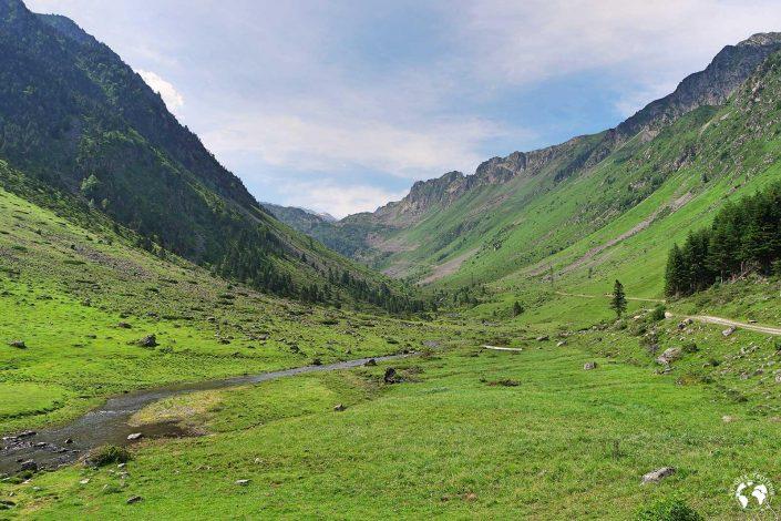 Début de la randonnée dans la Réserve Naturelle du Néouvielle