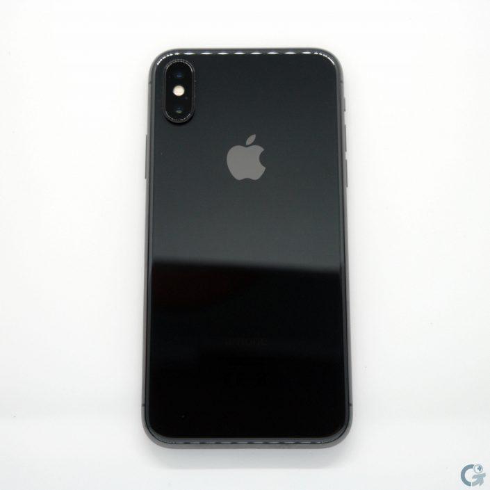 Façade arrière de l'iPhone X
