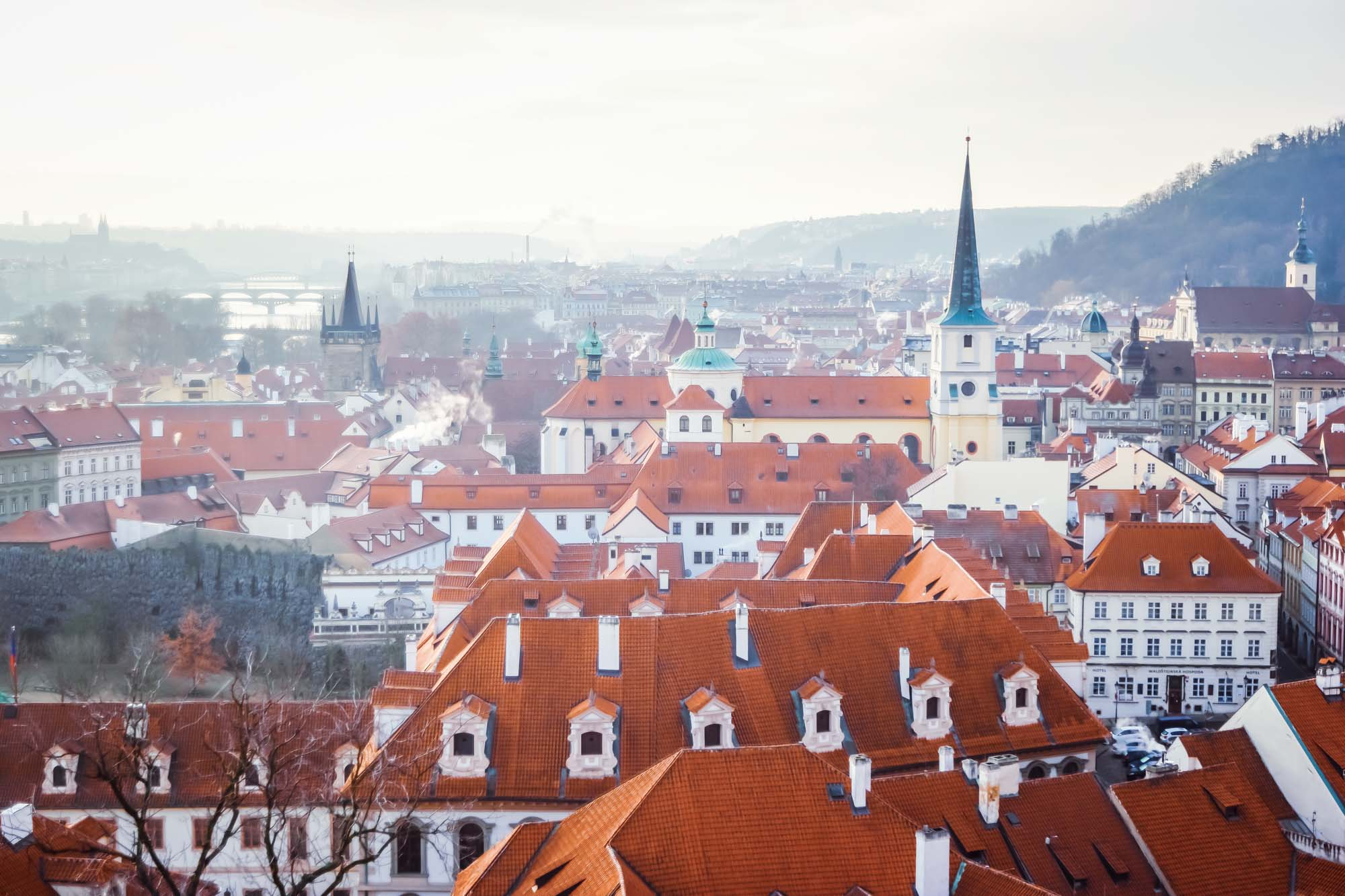 Le quartier Malá Strana à Prague