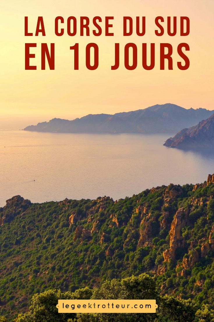 10 jours en Corse du Sud | Le Geek Trotteur