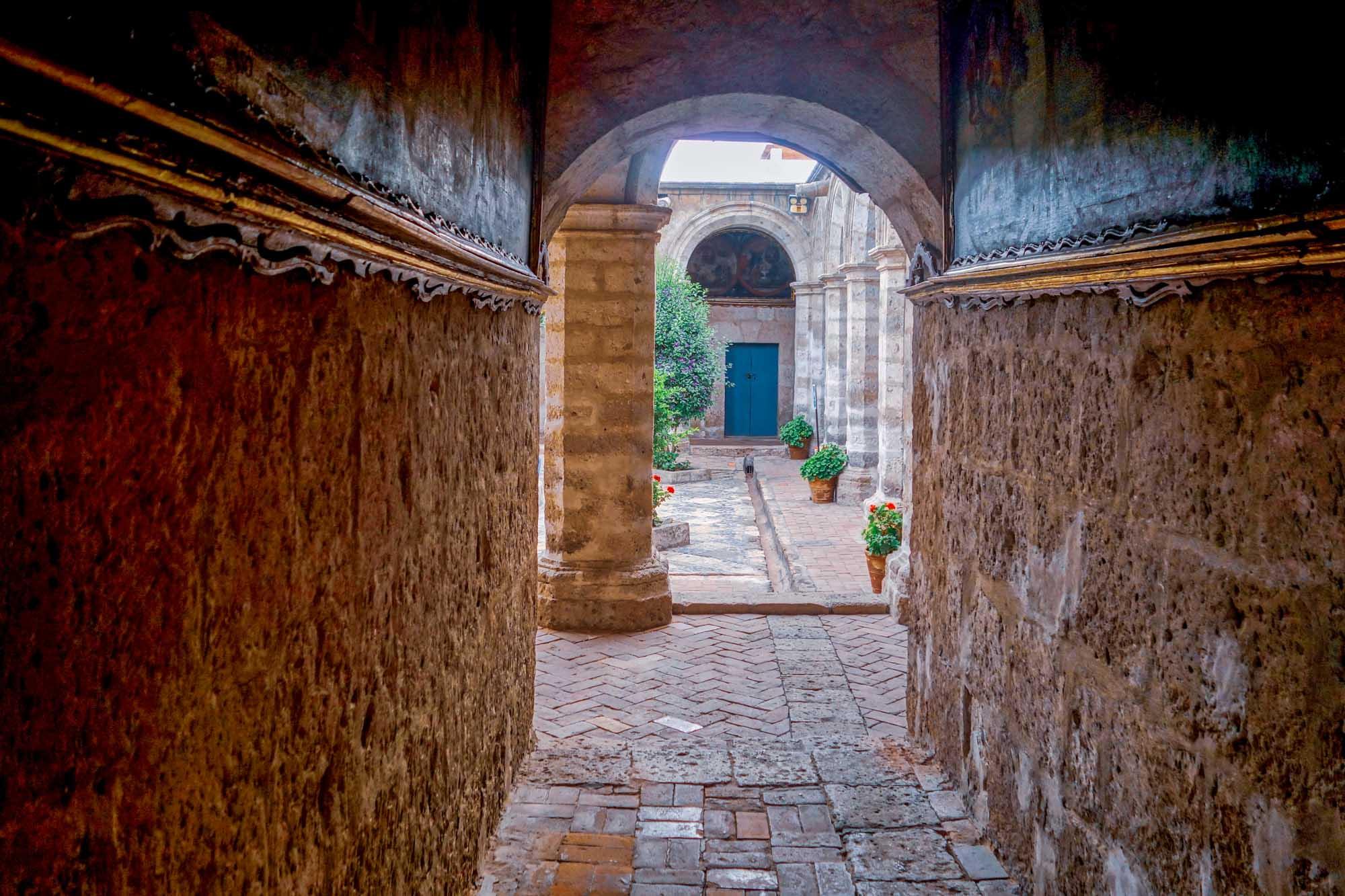 Le couvent Santa Catalina à Arequipa