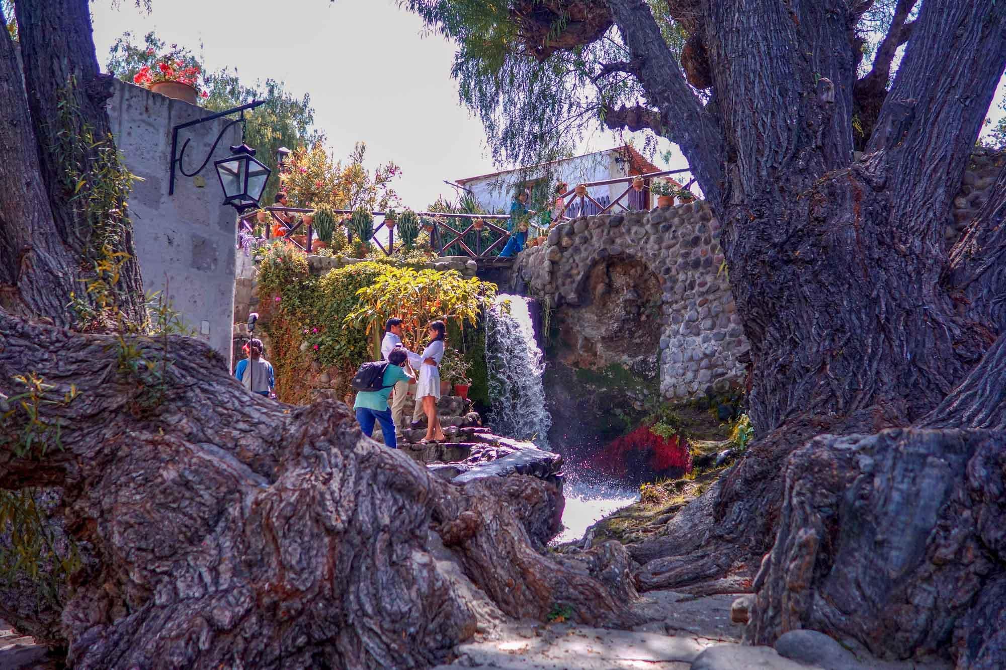 Le moulin de Sabendia à Arequipa
