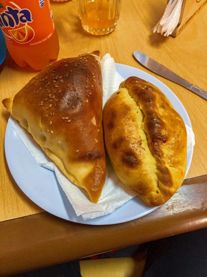 Empanadas dans le restaurant La Empanadita à Arequipa